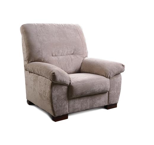 hnedá mäkkučká sedačka Renata