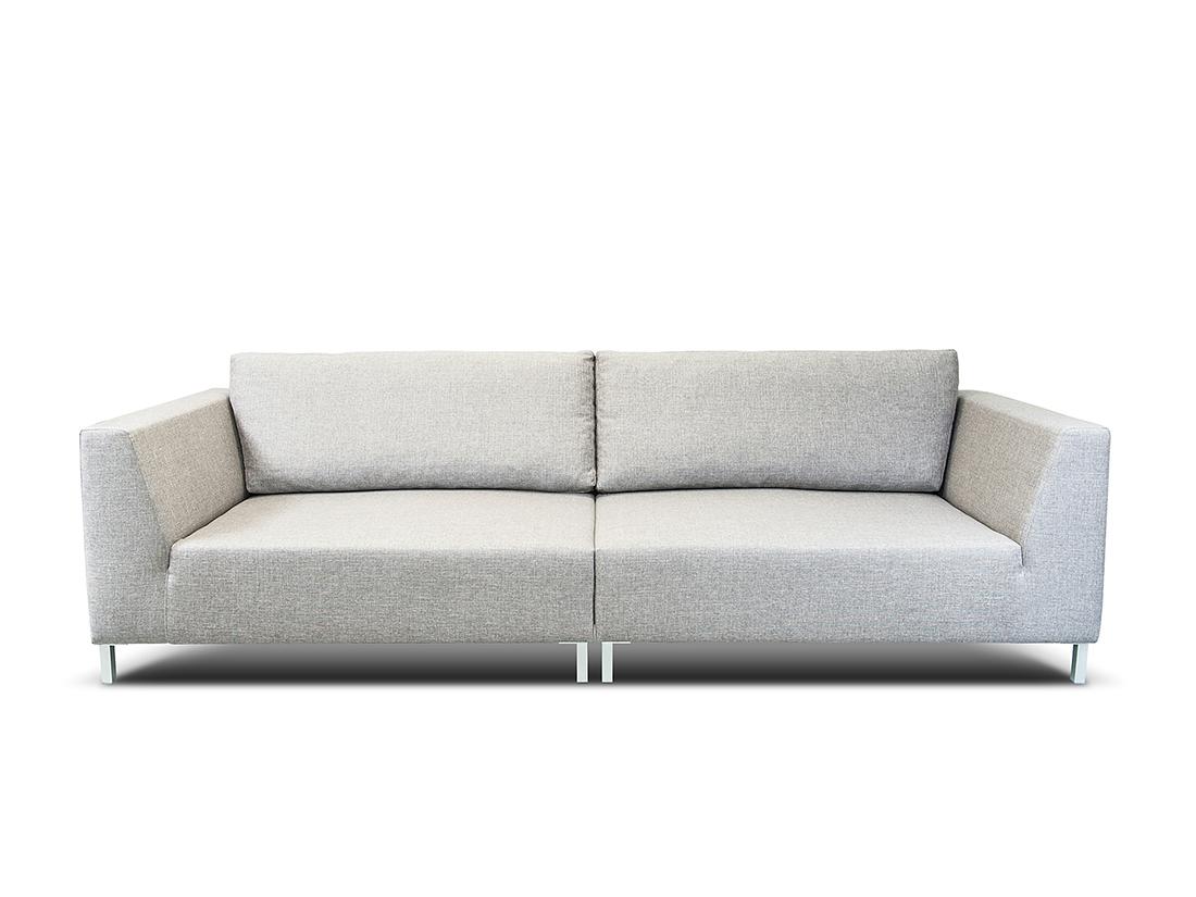 biela moderná rohová sedacia súprava Roland